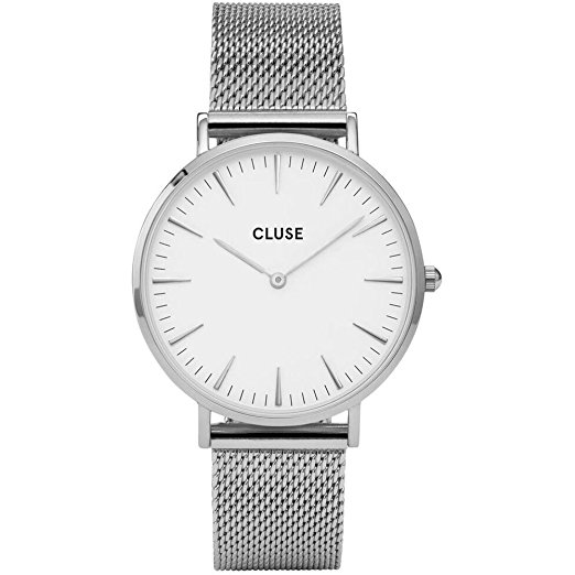 CLUSE La Bohème Mesh Full Black Analog Display Quartz Watch